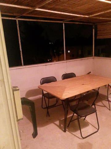 Studio apt. in Jerusalem with Big Private Balcony
