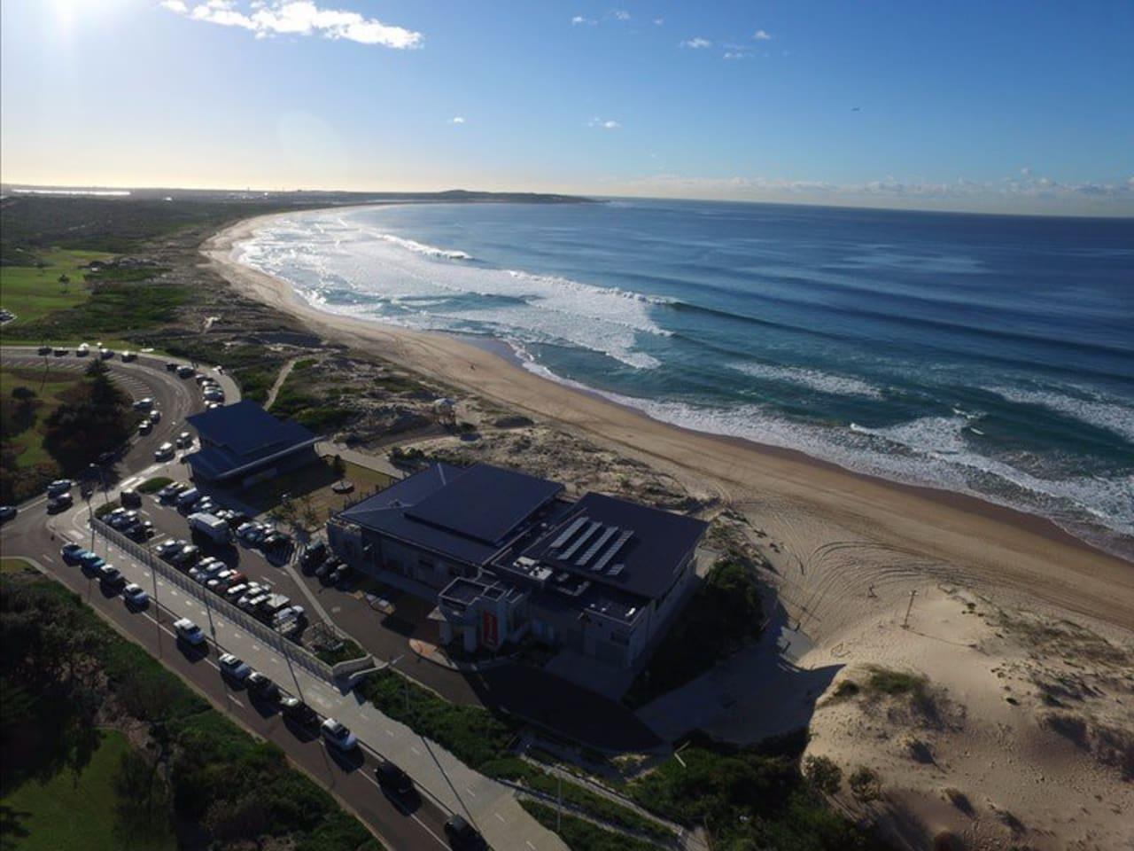 Wanda Beach- a short stroll away.