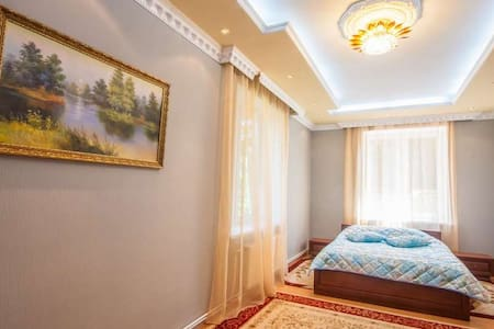 Quadruple room with private bathroom. Abuzerye  will be glad to meet guests in the bosom of the picturesque Belarusian nature.