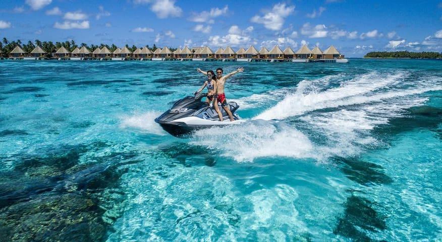 MERCURE HOTELS MALDIVES OVER WATER VILLA