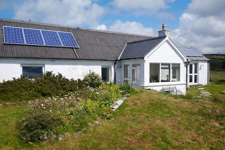 Traditional crofters cottage - extended and modernised
