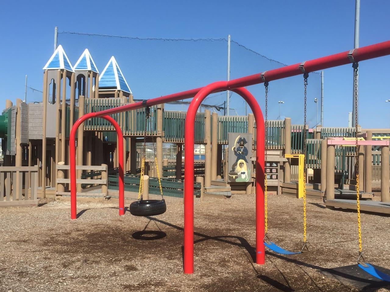 Shark Park Playground - Free and Fun!