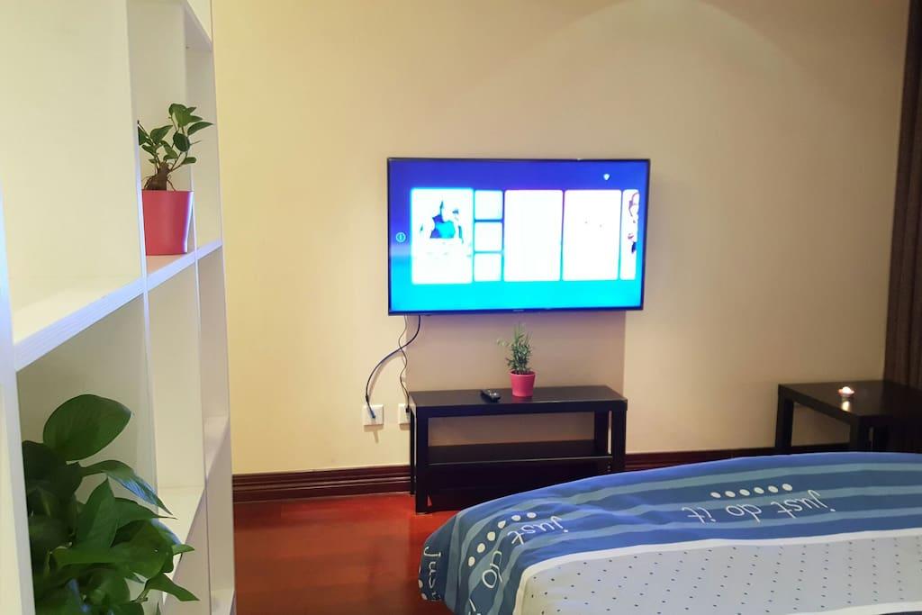 50寸大电视满足视觉传达