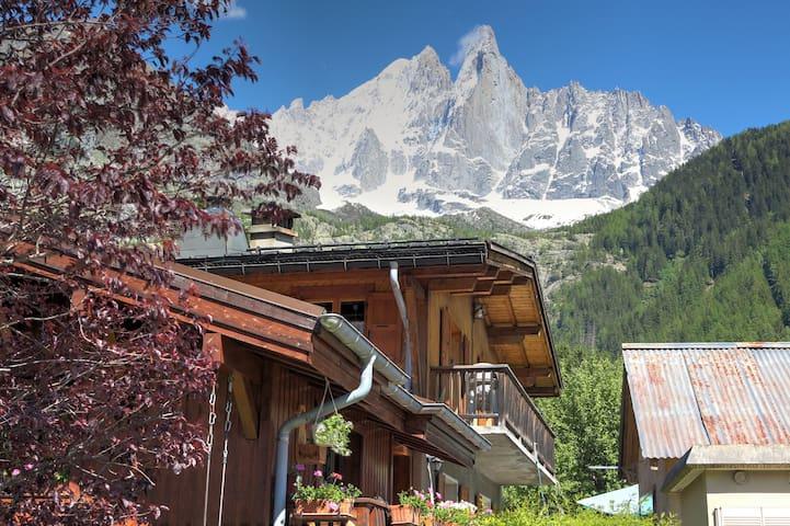 Appartement T2 dans chalet | Massif du Mont-Blanc