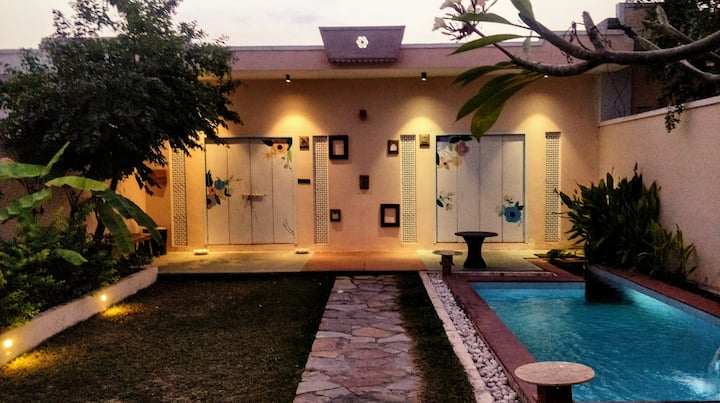 Private Pool Villa amidst serene Aravallis