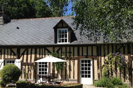 18th Century Cottage, log burner, free wifi - Rouelle - Dom