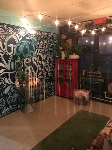 Good Vibes Tribe living room