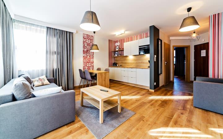 Myśliwska Residence 1 A Apartament 2 dla 5 osób