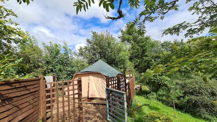 The Copper Pot Campsite Sunflower Tent