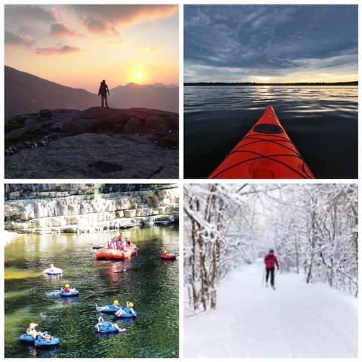 Enjoy every season in the Lake Champlain Region