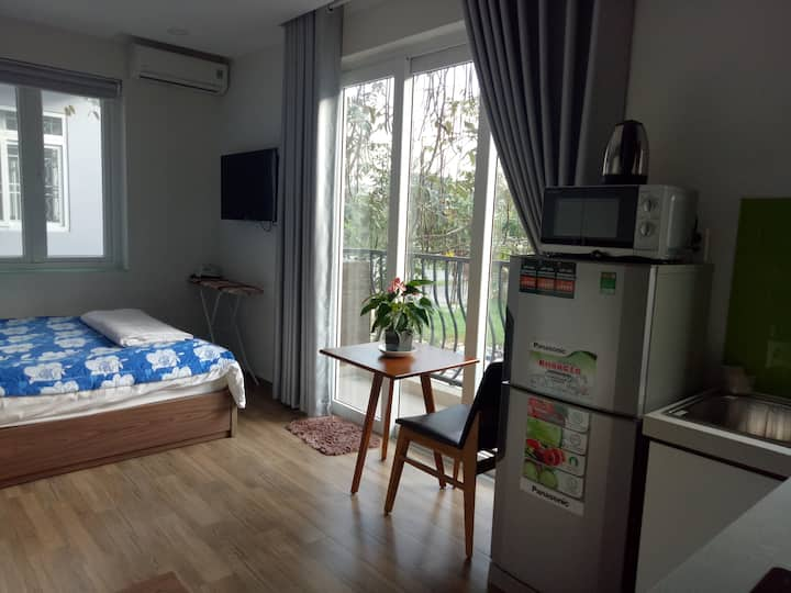 Serviced Apartment - Studio Apartment with Bancony
