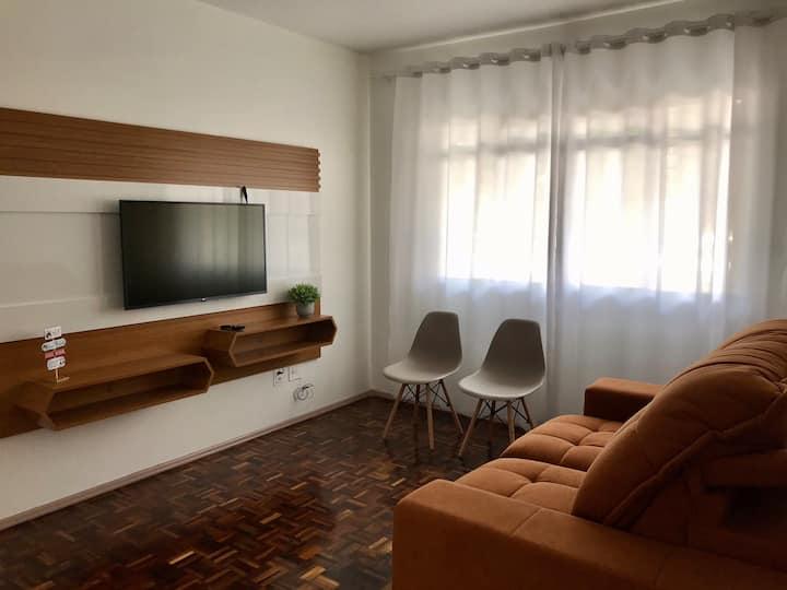 Apartamento para 6 pessoas com ótima localização