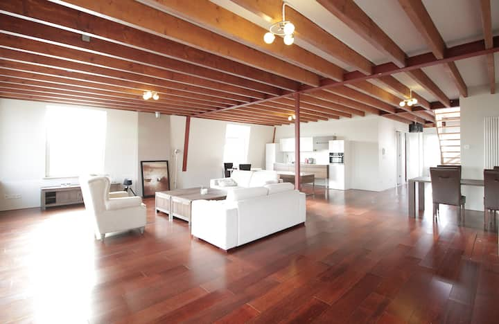 140 m2 Penthouse + 100 m2 Big Roof Terrace!