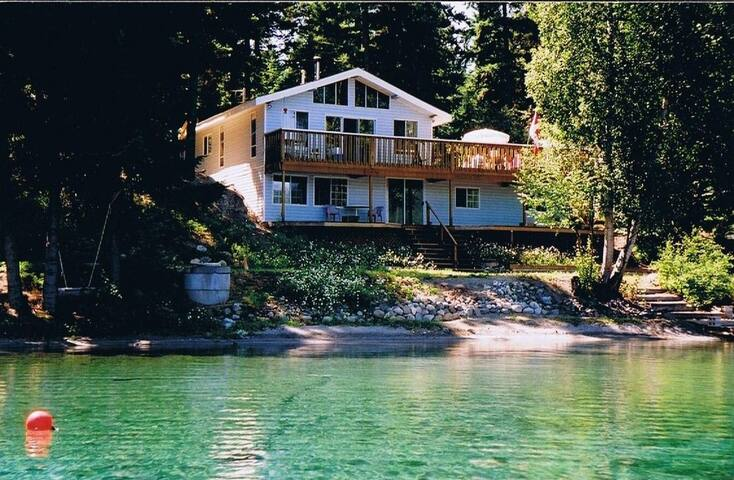 Waterfront Cottage on Gun Lake 2 Bedrms, sleeps 4
