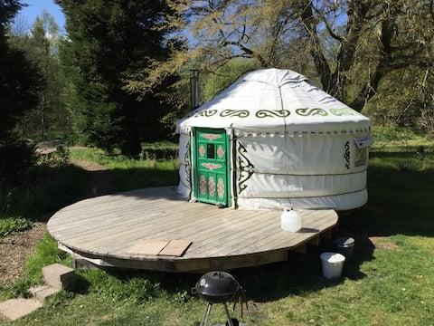 South Yurt em Bamff Ecoturismo