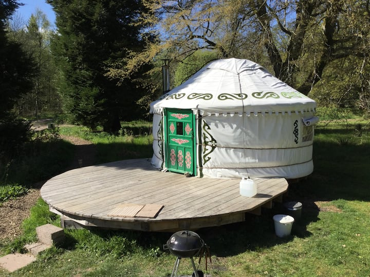 South Yurt at Bamff Ecotourism
