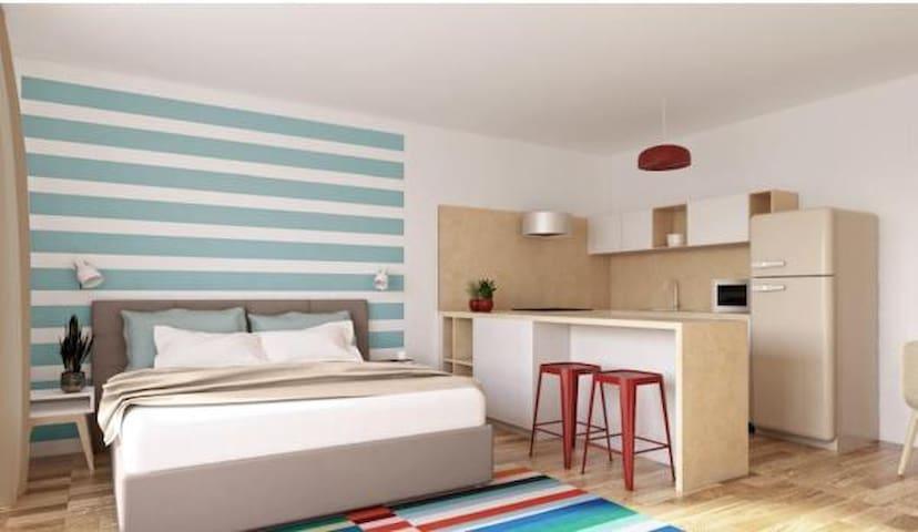 Park Rokytka - new balcony apartment, free parking