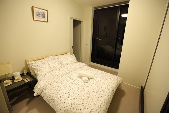 Private room with Cityscape in Melbourne CBD - Melbourne - Apartament