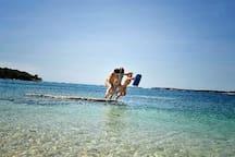Puntizela beach 3 km