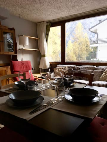 Bilocale vista Dolomiti di Brenta, Folgarida - Folgarida - Apartment