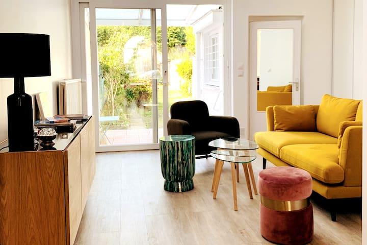Belle maison, jardin,  au calme, proche de Lille