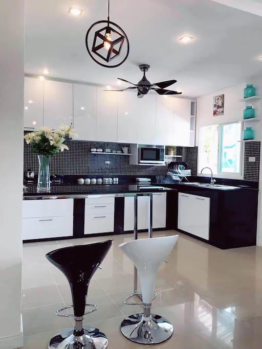 别出心裁的开放式厨房