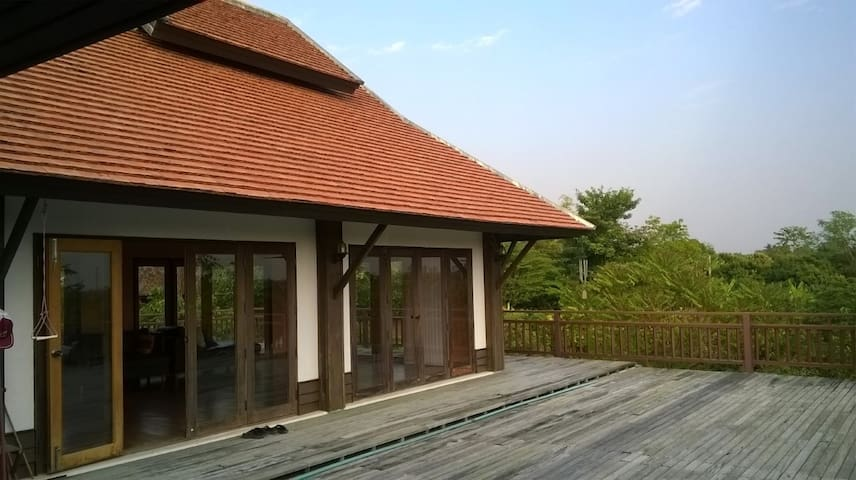 บ้านป่าลาน - Tambon Thung Tom - House