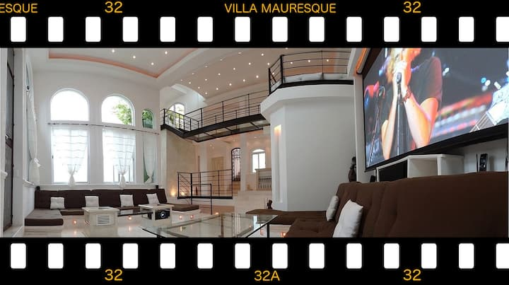 #1 FOR BIG GROUP: VILLA MAURESQUE IN PLAYA CENTER
