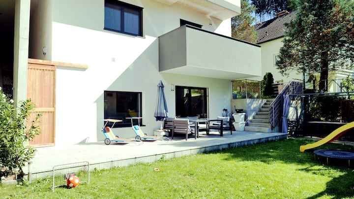 Sunny apartments with amazing view near Linz