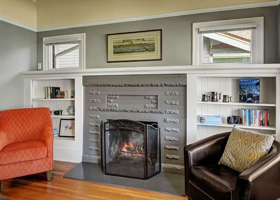 Spectacular craftsmanship in the living space!