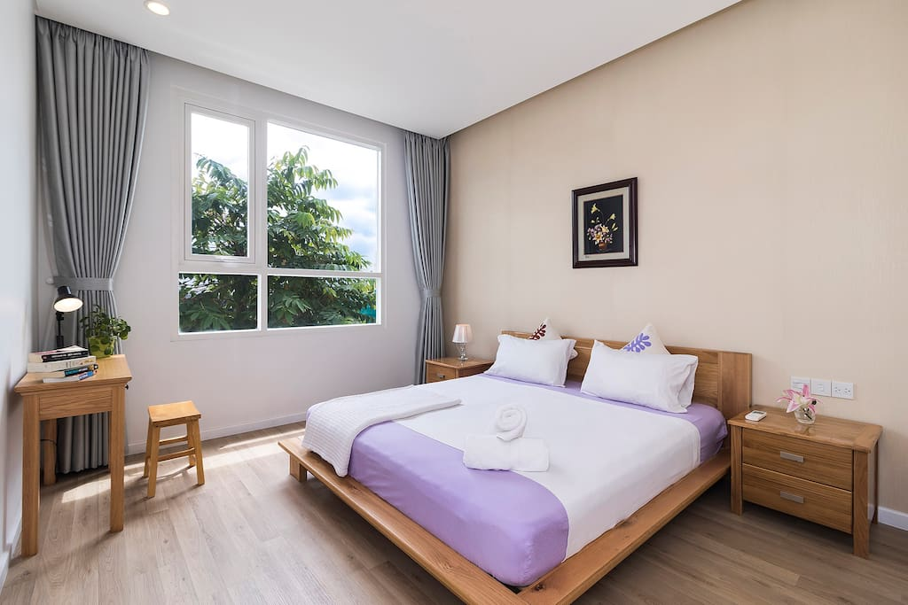 Both bedroom have big window which help fill the whole room with morning sunshine