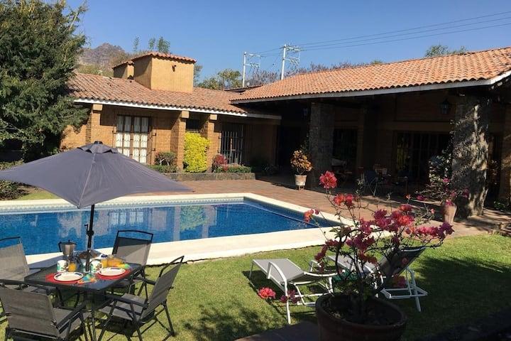 Hermosa casa en Tlayacapan