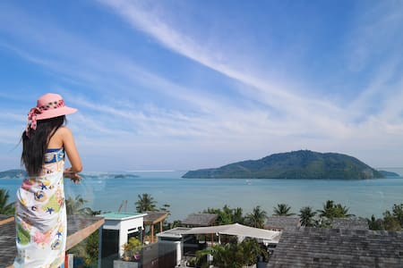 Panoramic Seaview Luxury 4•BDRM Private Pool Villa