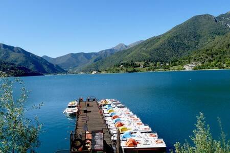 """Biacesa di Ledro - Garda Studio """"Mount 'N Lake"""""""