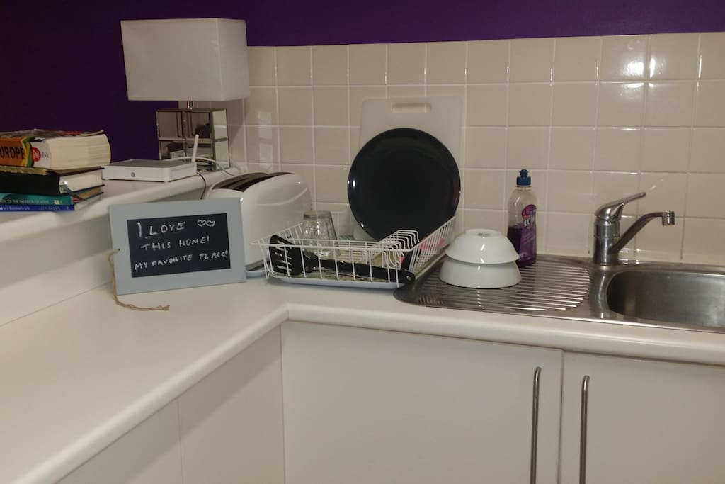 Brand new renovated kitchen all for you!