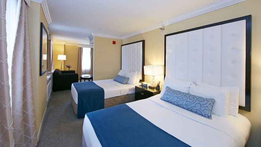 Allerton Suite with two beds