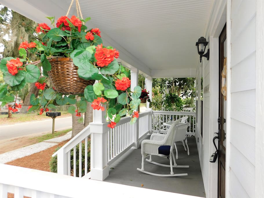 Inviting Front Porch