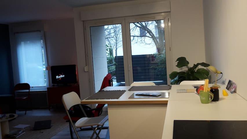 Appart Boussy St. Antoine proche RER et forêt - Boussy-Saint-Antoine - Apartamento