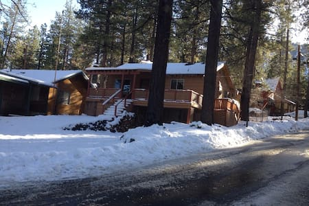 """Snow Place Like Home"" cozy retreat. - Wrightwood - Maison"