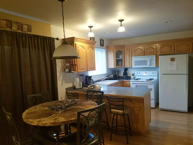 kitchen Is fully furnished.