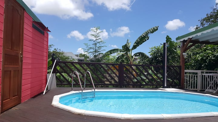 Appartement sympa bien situé ac piscine/2 à 4 pers