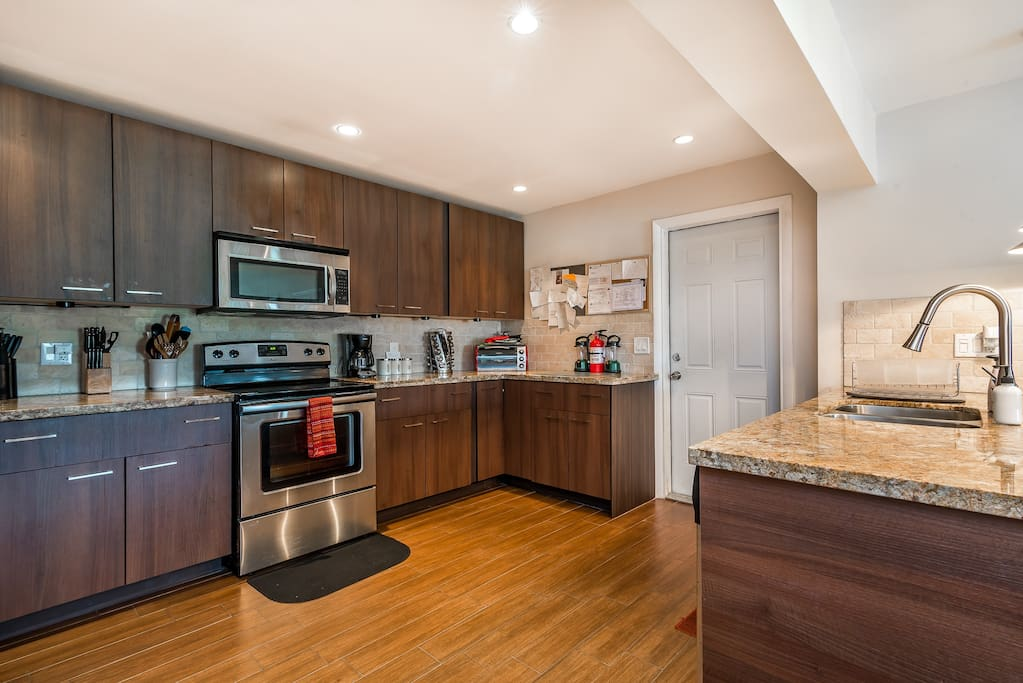 Huge Kitchen With Everything You Need