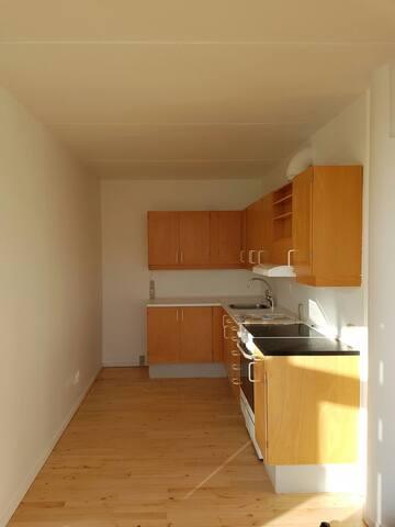 2 room private apartment