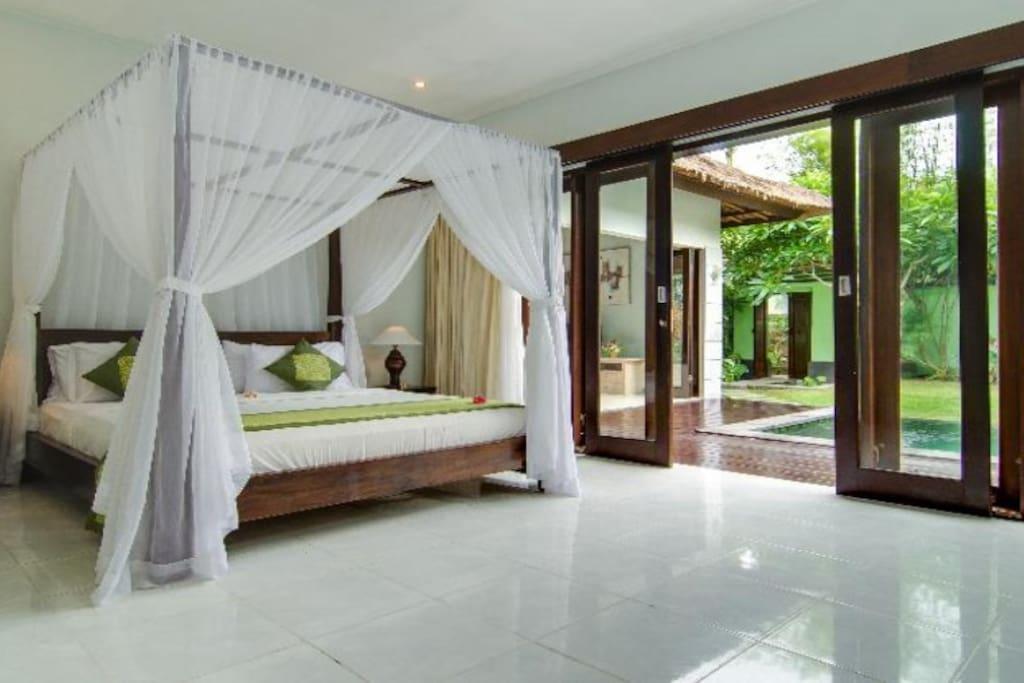 3 BR Abimanyu Villa - Guest Bedroom