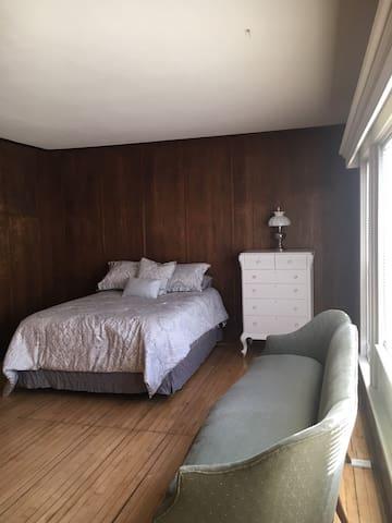 Front room queen bed