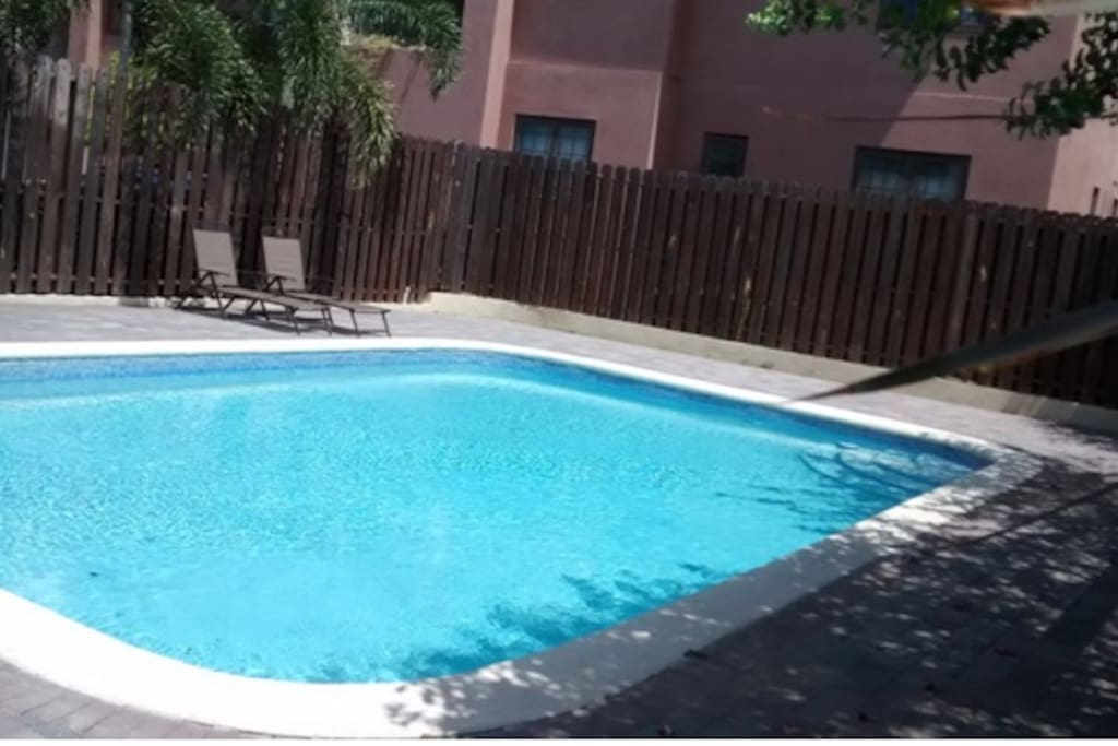 This is the Swimming Pool at Muirfield Apartments