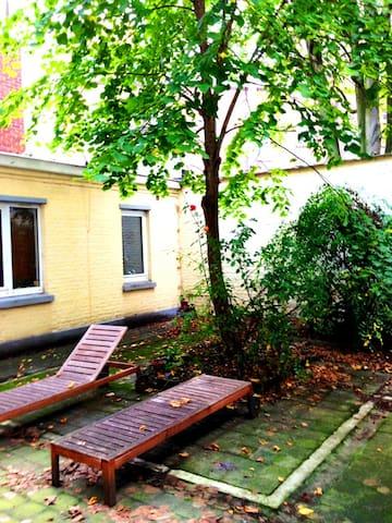 Le petit patio t1bis avec jardin appartements louer lille nord pas de calais france - Le petit jardin quilt pattern calais ...
