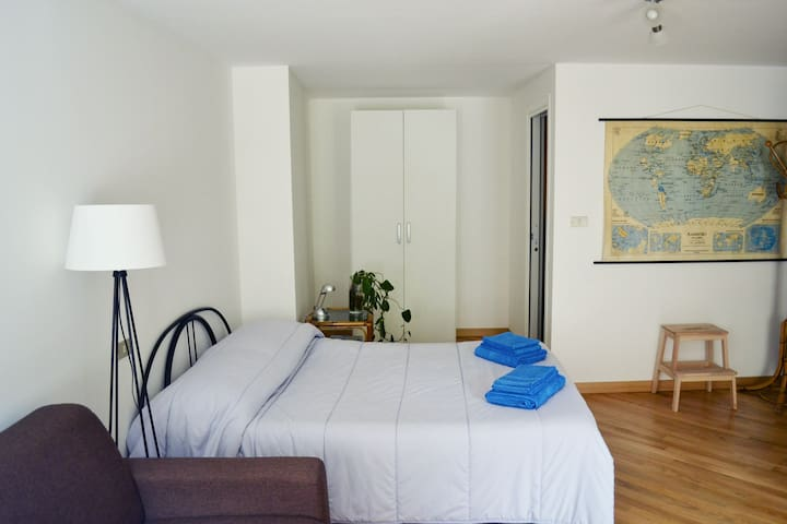 A studio apartment in Valtellina