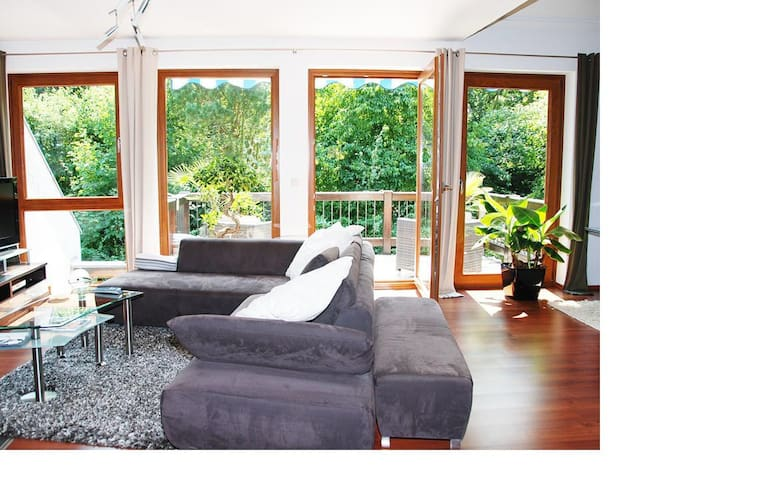 Maisonette Wohnung nahe Freudenberger Altstadt - Freudenberg - Apartamento