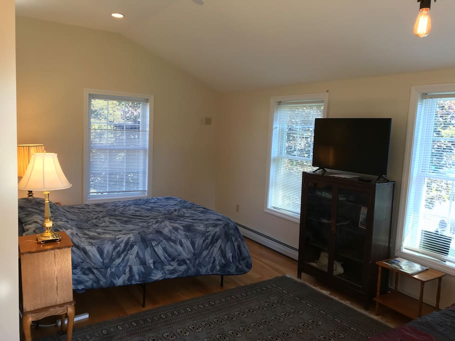 Large bedroom with 2 beds
